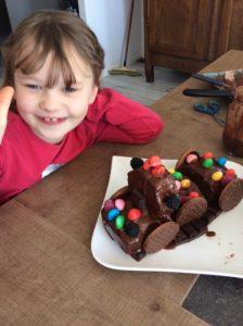 Le gâteau de Sixtine et Augustin