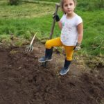 Jardinage pour Justine