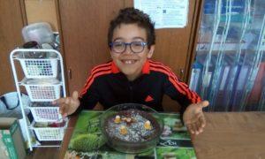 Le gâteau choco de Rafael